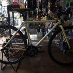 クロモリクロスバイク FUJI FEATHER CX FLAT
